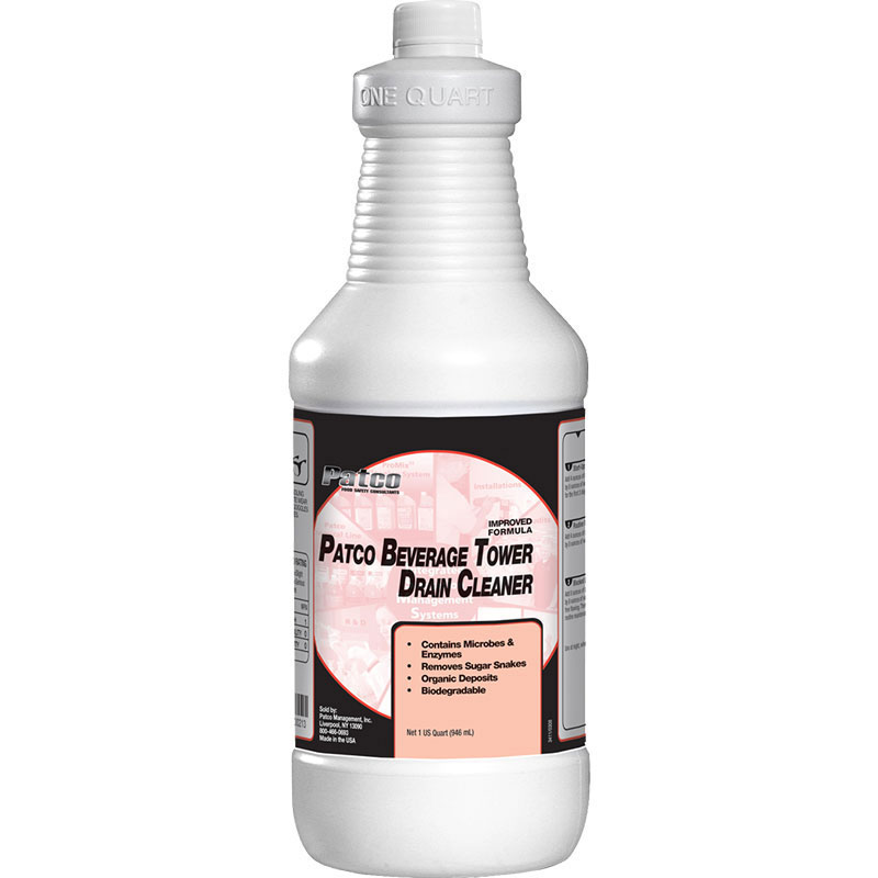 Patco Beverage Tower Drain Cleaner