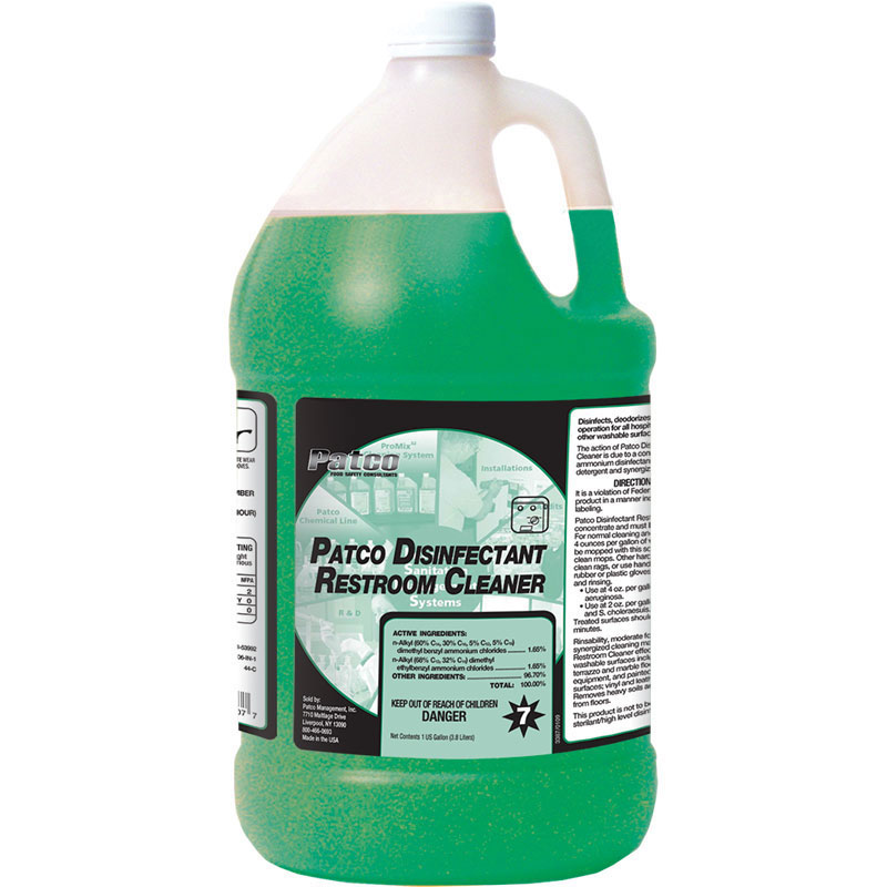 Patco Disinfectant Restroom Cleaner