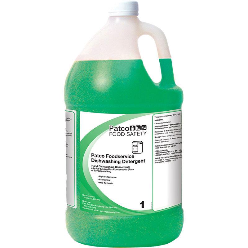 Patco Foodservice Dishwashing Detergent