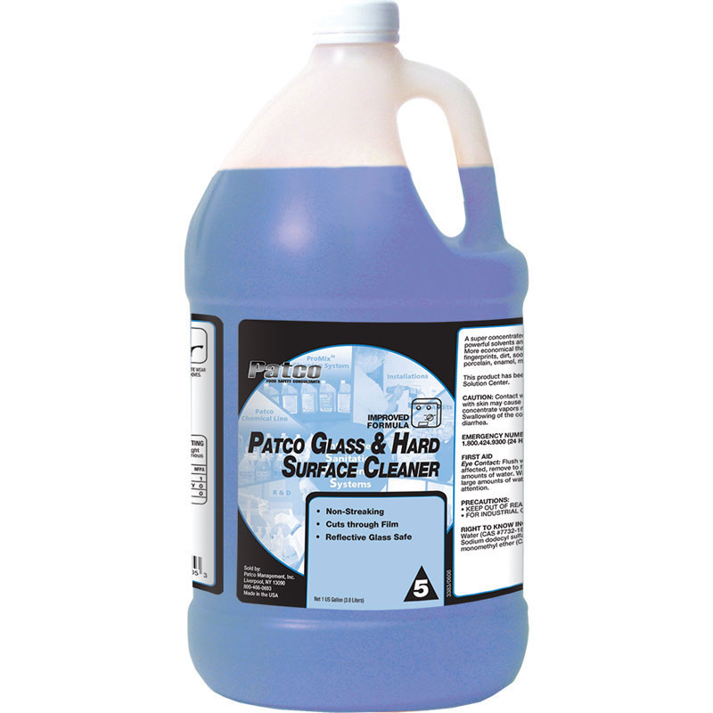 Patco Glass and Hard Surface Cleaner
