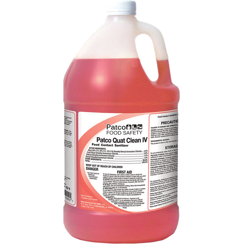 Patco Quat Clean IV