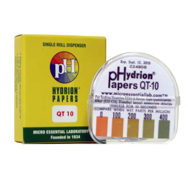 Patco pH Quat Test Strips